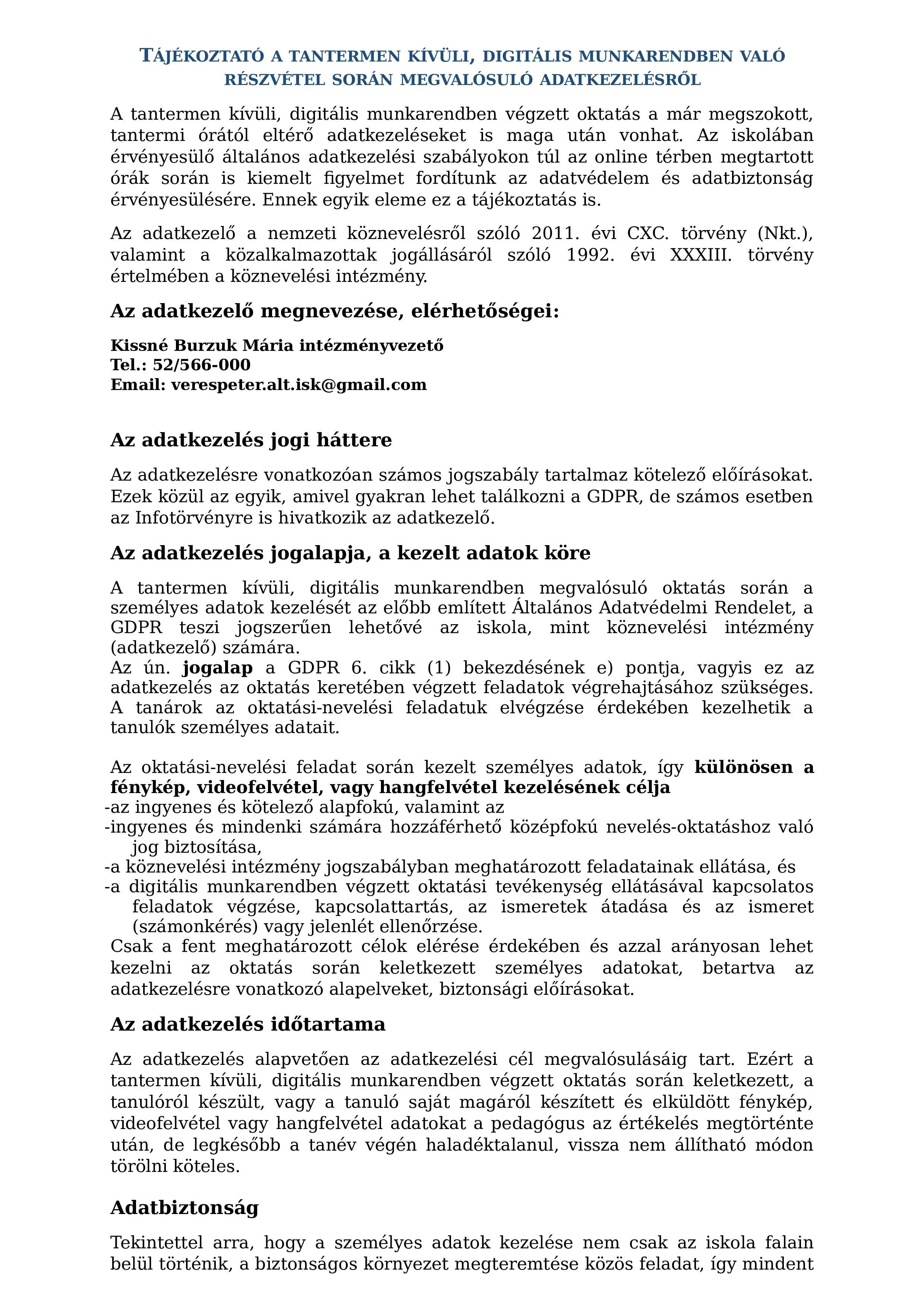 közös kezelés az újságban)